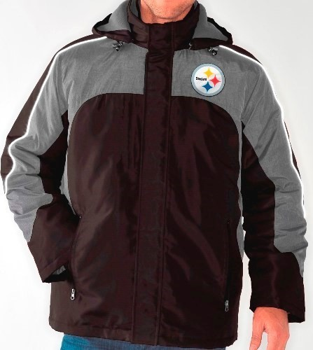 """G-III Sports Pittsburgh Steelers NFL """"Defense"""" Systems 3-in-1 Heavyweight Performance Jacket at Sears.com"""
