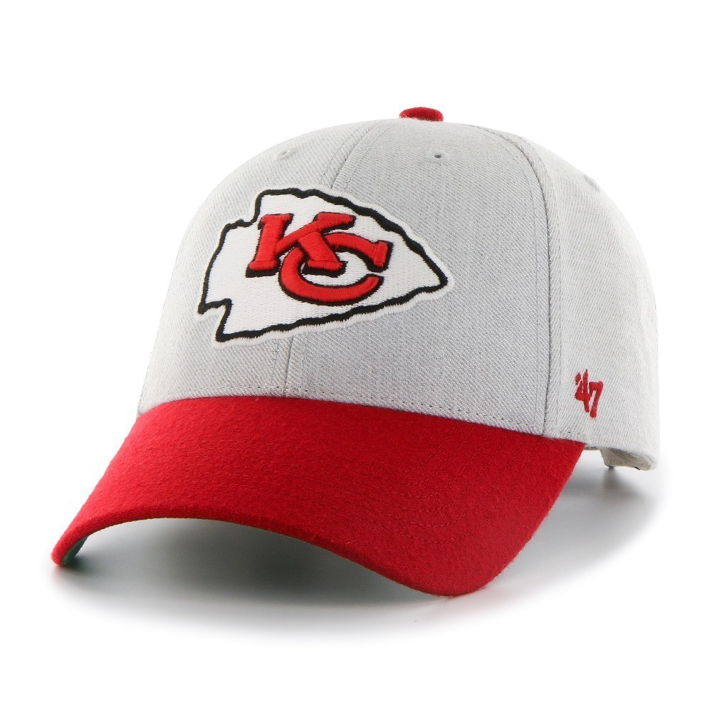 Mens Kansas City Chiefs '47 Brand Red Frost Structured Adjustable Hat
