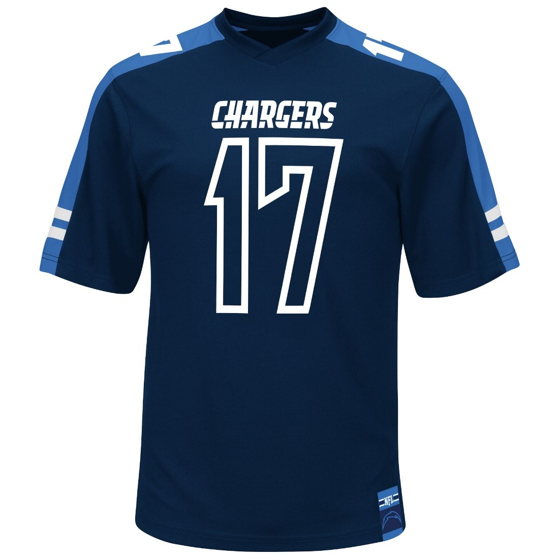 """San Diego Chargers Authentic Jerseys: Philip Rivers San Diego Chargers Majestic NFL """"Hashmark"""