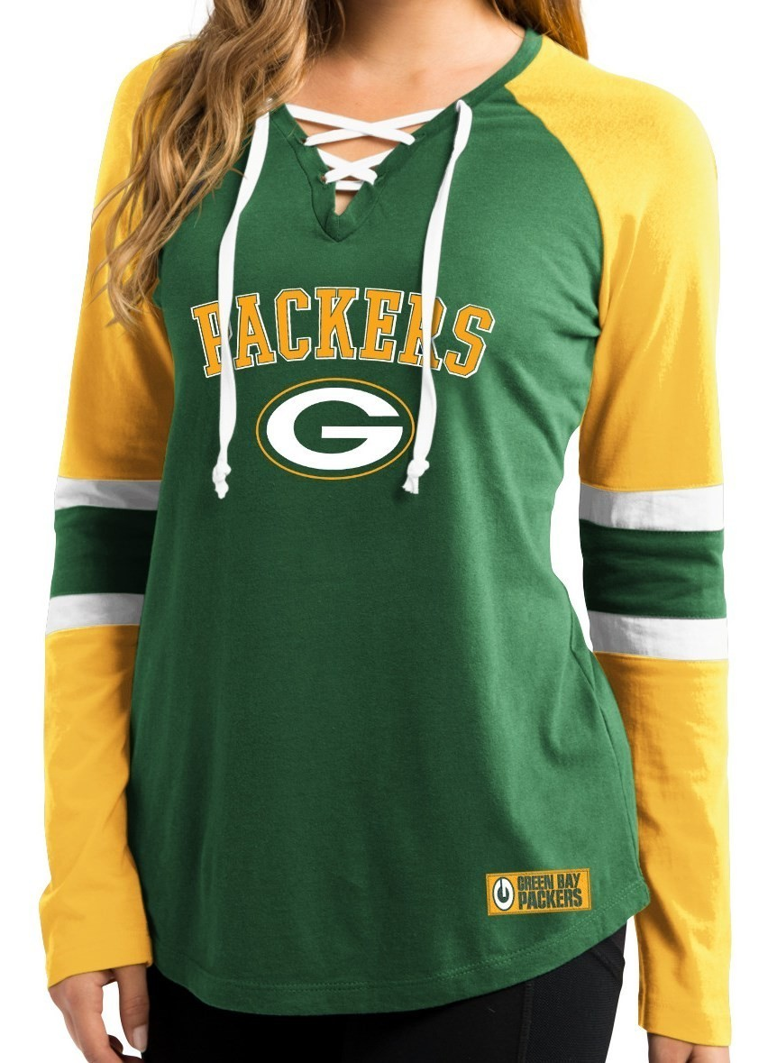 Women S Green Bay Packers Aaron Rodgers Majestic White