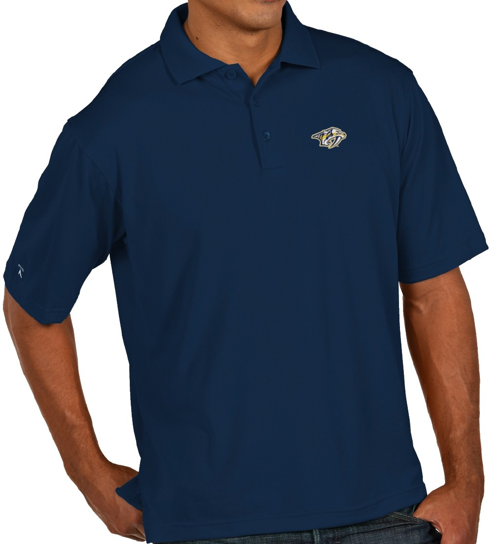 Nashville predators antiqua nhl quot pique performance polo