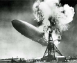 Hindenburg Disaster B&W 8x10 Photo