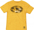 "Missouri Tigers Adidas Originals ""The Balboa"" Gold Premium Tri-Blend T-Shirt"