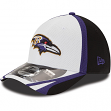 Baltimore Ravens New Era 39THIRTY 2014 Official Training Flex Fit Hat - White