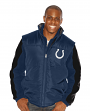 """Indianapolis Colts NFL """"Goal to Go"""" Systems 4-in-1 Heavyweight Vest Jacket"""
