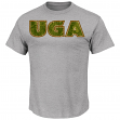 "Georgia Bulldogs Majestic NCAA ""Laid Out"" Men's T-Shirt"