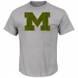"Michigan Wolverines Majestic NCAA ""Laid Out"" Men's T-Shirt"