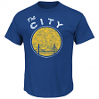 "Golden State Warriors Majestic NBA Throwback ""Post Up"" Men's T-Shirt"