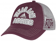Texas A&M Aggies Adidas NCAA Adjustable Slouch Meshback Hat