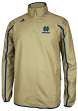 Notre Dame Fighting Irish Adidas NCAA Sideline 1/4 Zip Climaproof Jacket - Gold