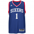 Michael Carter-Williams Philadelphia 76ers Adidas NBA Swingman Jersey - Blue