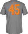 Tennessee Volunteers Adidas NCAA Men's # 45 T-Shirt - Smokey Grey