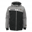 """New Orleans Saints Youth NFL """"Resilient"""" Full Zip Performance Sweatshirt"""