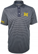 "Michigan Wolverines Majestic NCAA ""Lateral"" Performance Polo Shirt"