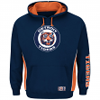 "Detroit Tigers Majestic MLB ""Stadium"" Cooperstown Hooded Sweatshirt"