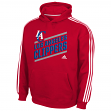 "Los Angeles Clippers Youth Adidas NBA ""Playbook Stripe"" Hooded Sweathshirt"