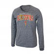 "Arizona State Sun Devils NCAA ""Slate"" Long Sleeve Slub Shirt - Charcoal"