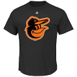 "Baltimore Orioles Majestic MLB ""Skills Test"" Cool Base Synthetic T-Shirt"