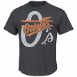 "Baltimore Orioles Majestic MLB ""Rise to Victory"" Short Sleeve Men's T-Shirt"