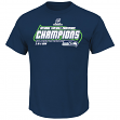"Seattle Seahawks Majestic 2014 NFC Conference Champions ""Supremacy"" S/S T-Shirt"