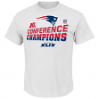 New England Patriots Majestic 2014 AFC Champions Locker Room S/S T-Shirt