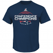 "New England Patriots Majestic 2014 AFC Conference Champions ""Choice"" S/S T-Shirt"
