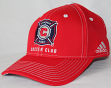 "Chicago Fire Adidas MLS ""Jersey Hooks"" Team Structured Adjustable Hat"