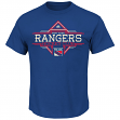 "New York Rangers Majestic NHL ""Vintage Draft History"" Premium Men's T-Shirt"