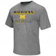 "Michigan Wolverines NCAA ""Arena"" Men's Performance Shirt - Charcoal"