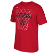 "Portland Trail Blazers Adidas NBA ""Net Up"" Men's Short Sleeve T-Shirt"