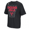 "Chicago Bulls Adidas NBA ""Net Up"" Men's Climalite Performance T-Shirt"