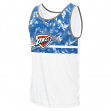 "Oklahoma City Thunder Adidas NBA ""Energy Camo"" Men's Tank Top T-Shirt"