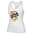 "Pittsburgh Penguins Women's CCM ""Labeled"" NHL Stripe Racer Tank Top Shirt"