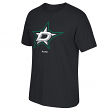 Dallas Stars Reebok NHL Black Primary Logo Men's T-Shirt