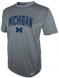 "Michigan Wolverines Majestic NCAA ""Big Man"" Short Sleeve Performance Shirt"
