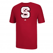 "North Carolina State Wolfpack Adidas NCAA ""Team Logo"" Men's T-Shirt"