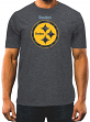 "Pittsburgh Steelers Majestic NFL ""Breakaway Speed"" Men's Cool Base T-Shirt"