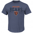 "Chicago Bears Majestic NFL ""Red Zone"" Men's Short Sleeve Premium T-Shirt"