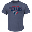 "Houston Texans Majestic NFL ""Red Zone"" Men's Short Sleeve Premium T-Shirt"
