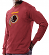 Washington Redskins Majestic NFL Critical Victory Men's Long Sleeve Red T-Shirt