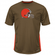 "Cleveland Browns Majestic NFL ""To The Limits"" Men's Cool Base T-Shirt"