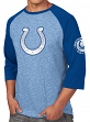 "Indianapolis Colts Majestic NFL ""Great Move"" Men's 3/4 Sleeve Tri-Blend T-Shirt"
