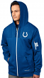 "Indianapolis Colts Majestic ""Action"" Men's F/Z Therma Base Hooded Sweatshirt"