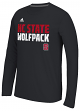 "North Carolina State Wolfpack Adidas NCAA ""Shock"" Sideline Performance L/S Shirt"
