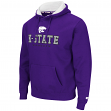 "Kansas State Wildcats NCAA ""Zone II"" Pullover Hooded Men's Sweatshirt - Purple"