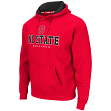"North Carolina State Wolfpack ""Zone II"" Pullover Hooded Men's Sweatshirt - Red"