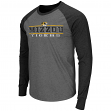 "Missouri Tigers NCAA ""Tailback"" Long Sleeve Raglan Men's T-Shirt"