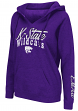 "Kansas State Wildcats Women's NCAA ""Cosmic"" Hooded Vintage Sweatshirt"