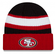 San Francisco 49ers New Era NFL Rib Start Cuffed Knit Hat