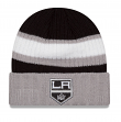 Los Angeles Kings New Era NHL Rib Start Cuffed Knit Hat